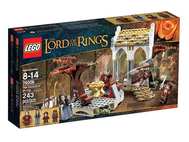 79006 レゴ ロード・オブ・ザ・リング エルロンドの会議