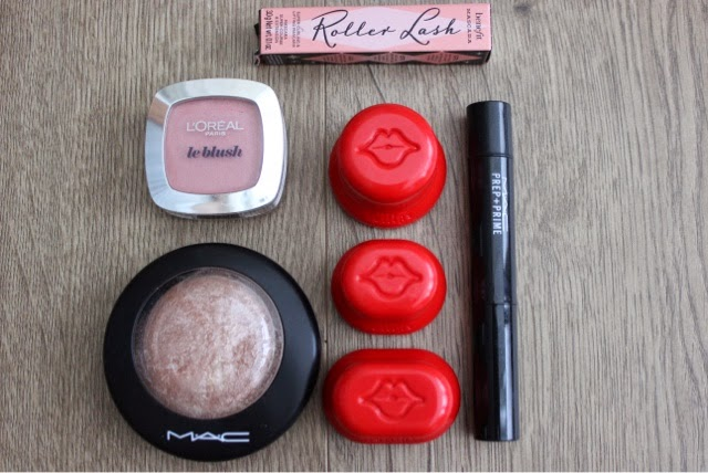 A picture of favourite beauty products