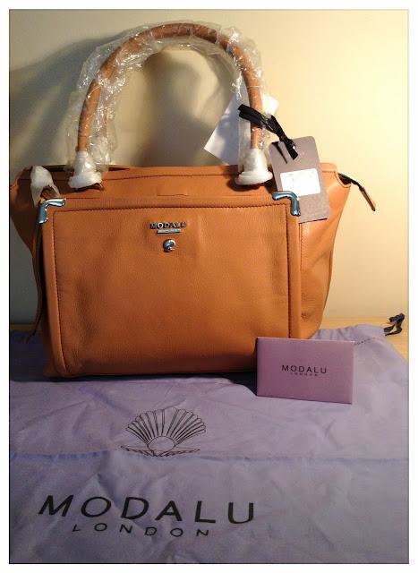 emsypickle: Fashion | Modalu Chantilly Cappuccino Grab Handbag - bought  from TK Maxx