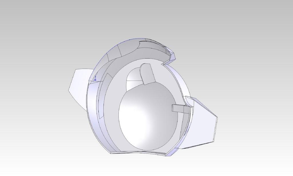 Gundam Motorcycle Helmet Work on The Gundam Helmet