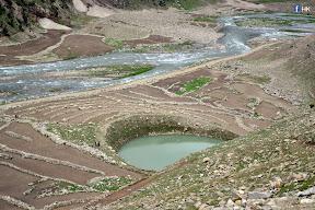 Piyala Lake  The lake shaped like a bowl, in Jalkhad (Kaghan Valley)