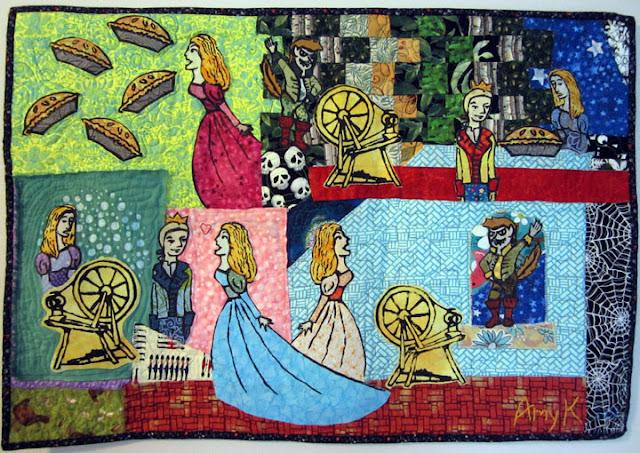 tomtittot art quilt