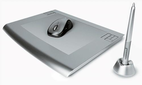 Tavoletta Grafica con Pennino e Mouse