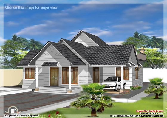 Single storey like double floor home