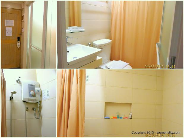 Chalet Baguio Comfort Room
