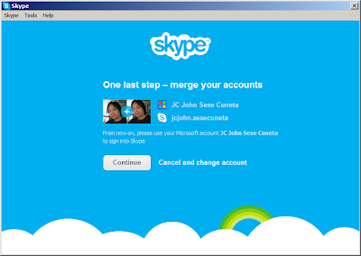 Merge WLM/MSN Messenger with Skype: Step 6