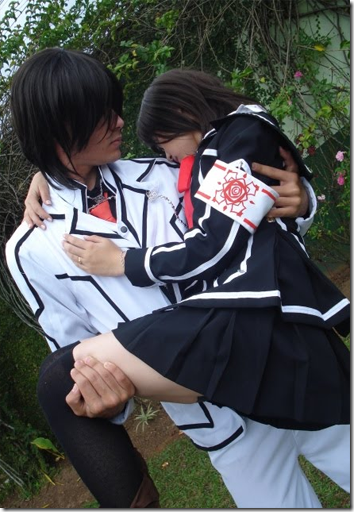 vampire knight cosplay - kuran kaname and kuran yuki cross by gust-james and satikohime