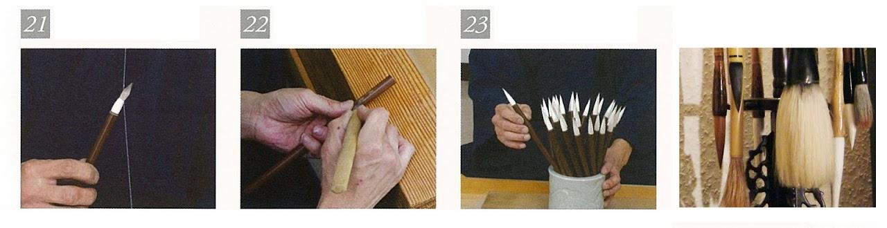 Japán ecset készítése 21-23