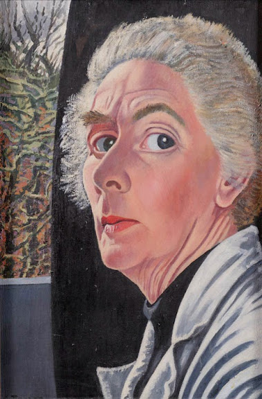 Charley Toorop - Zelfportret, 1954-1955