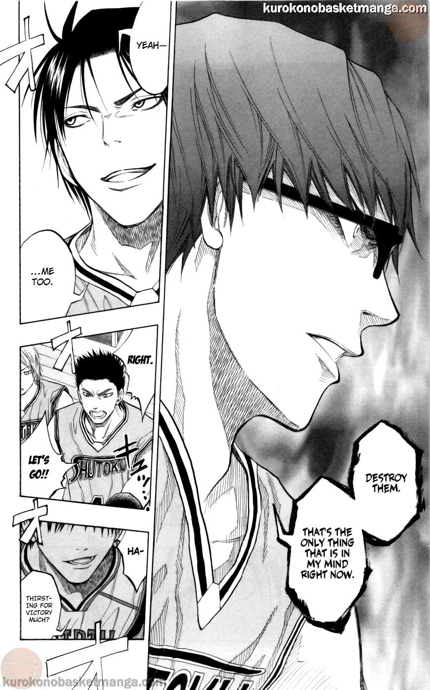 Kuroko no Basket Manga Chapter 85 - Image 18