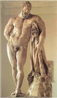 Ηρακλής, καλύτερος ήρωας της αρχαιότητας, ημίθεος γιος του Δία, ανδρεία και τόλμη, δώδεκα άθλοι του Ηρακλή.