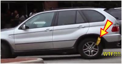 Condutora De BMW Bloqueado Resolve Problema De Forma Inacreditável!! (Não Recomendado A Quem Gosta De Automóveis!)