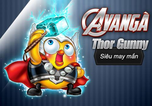 """""""Biệt đội siêu anh hùng"""" đổ bộ vào vương quốc Gunny 4"""