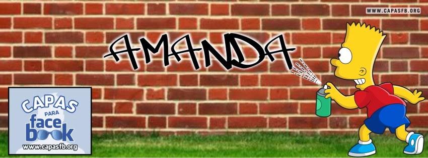 Capas para Facebook Amanda