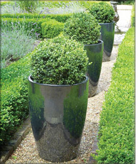Apta Mirror Glaze Garden Patio pots and Planters