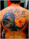 yin yang tattoo Designs 10