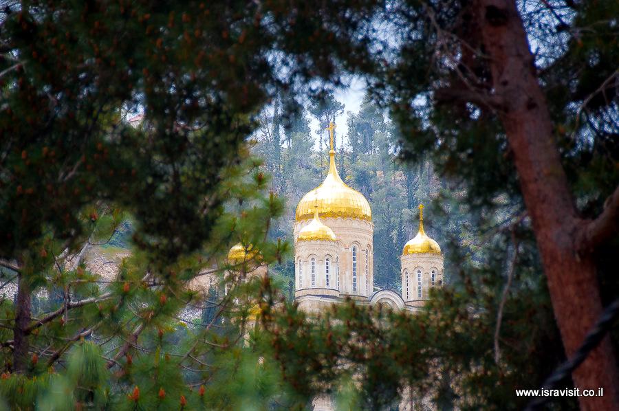 Горненский монастырь в Московии в Иерусалиме. Экскурсия по Святым местам Иудейских гор.