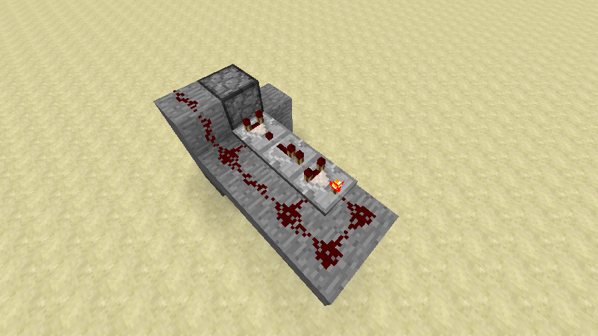 Simple Redstone Device: The Garbage Disposal   Mine, build