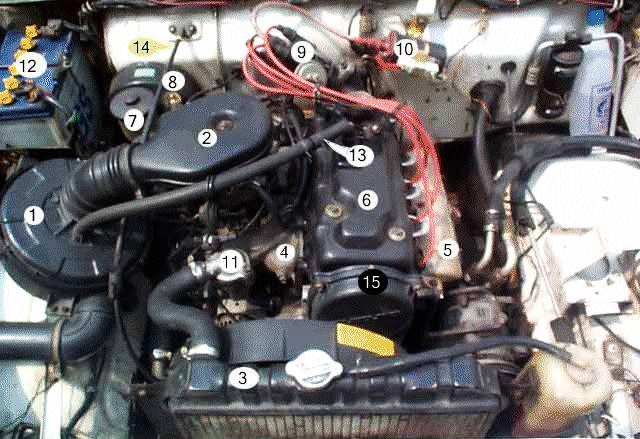 suzukijeepinfo  suzuki sj engine component