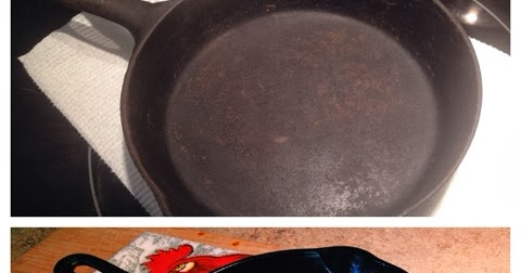 linn acres farm removing rust from cast iron cookware. Black Bedroom Furniture Sets. Home Design Ideas