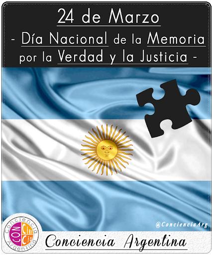 24 de Marzo: Día Nacional de la Memoria por la Verdad y la Justicia...