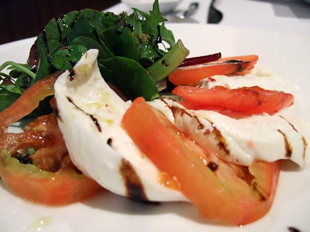Buffalo mozzarella salad with marinated tomato and aged balsamic