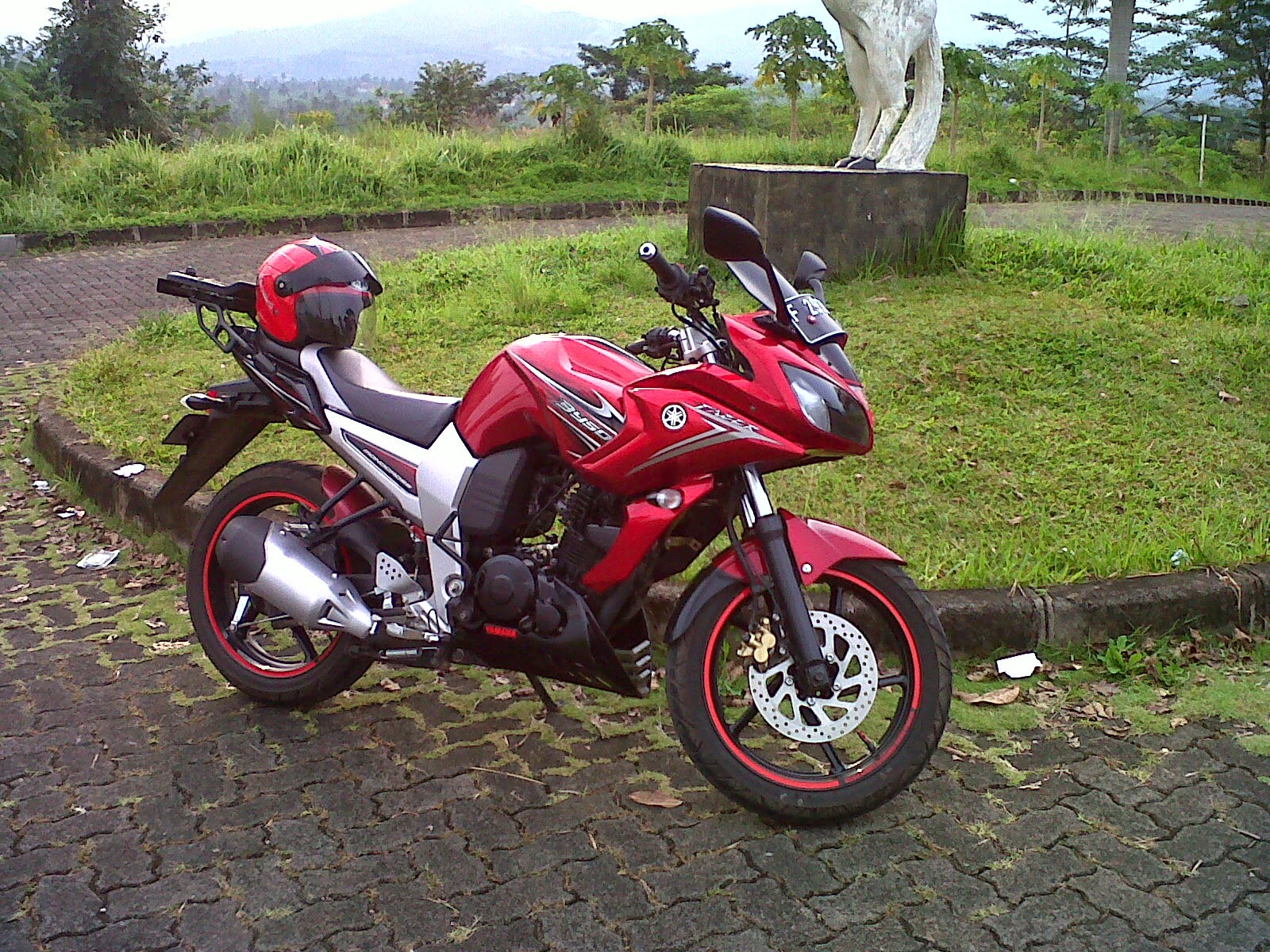 modifikasi motor byson street fighter