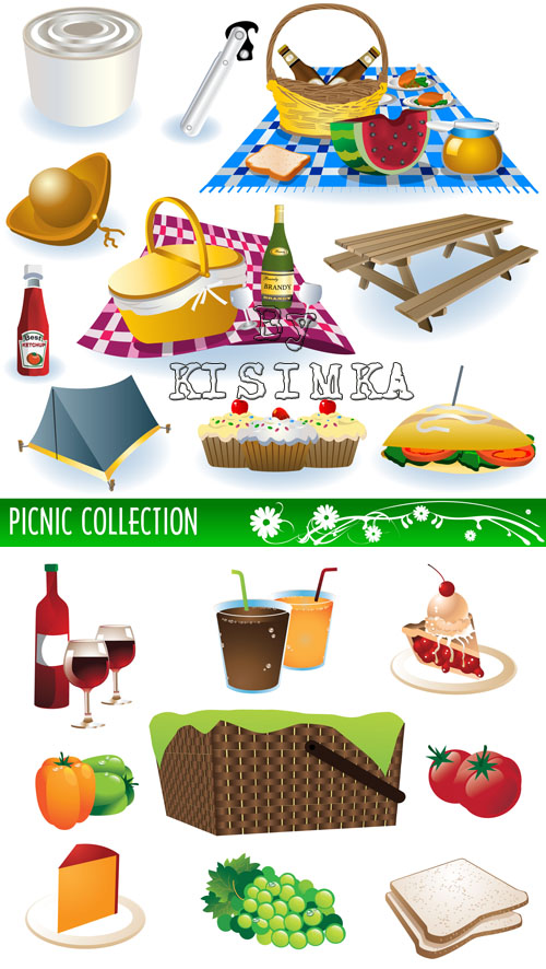Stock: Picnic Elements