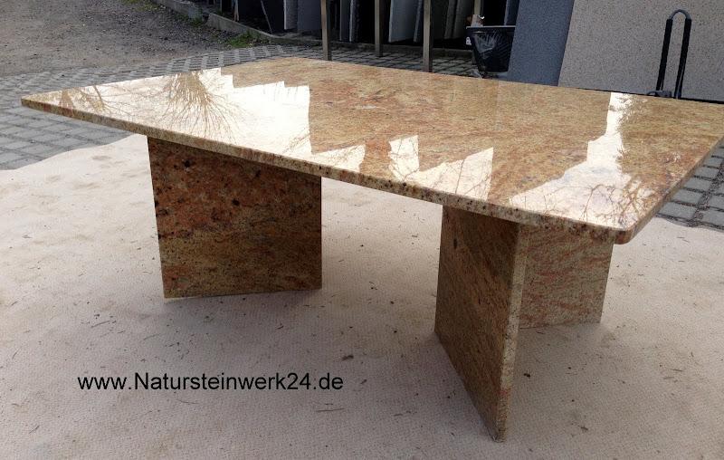 couchtisch beistelltisch granit marmor madura gold 160 90. Black Bedroom Furniture Sets. Home Design Ideas