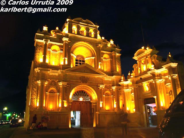 Fotografía Nocturna Obras Sociales del Hermano Pedro Antigua Guatemala