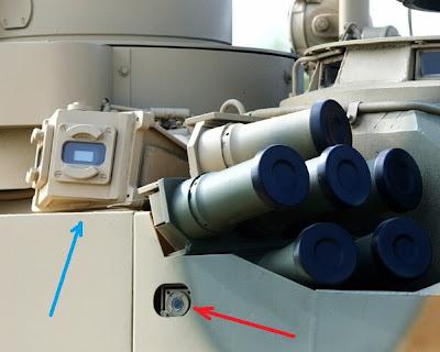 По синей стрелочке датчик лазерного