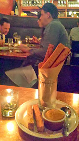 Park Kitchen's Chickpea fries with pumpkin ketchup