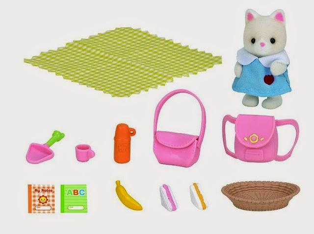 Bộ đồ dã ngoại Nursery Picnic Set 3590 với tất cả các vật dụng đi kèm