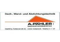 A. Pähler Dachdeckermeister