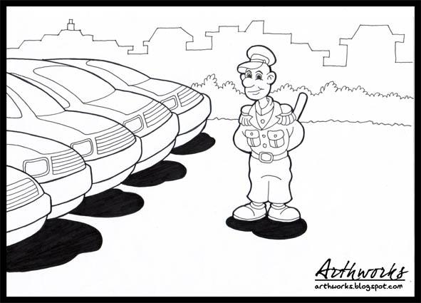 Aliran Gaya Menggambar Komik Arthurswork