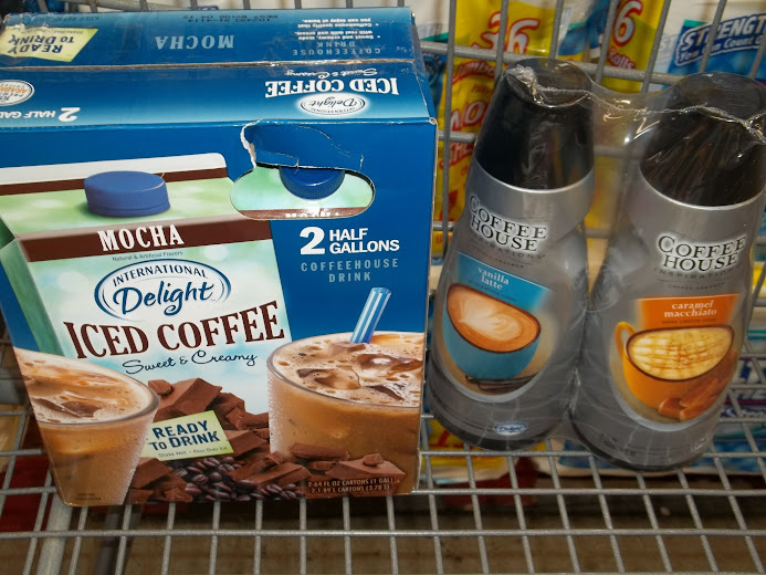 International Delights Mocha Iced Coffee and Coffeehouse Creamers