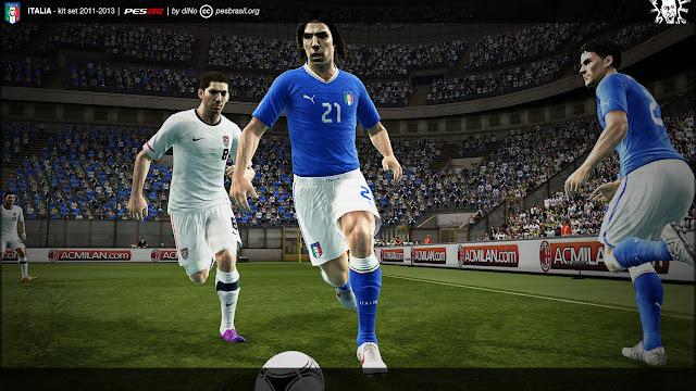 Itália 11-13 Kitset - PES 2012