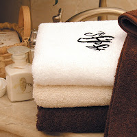 Monogrammed Bath Towel Sets