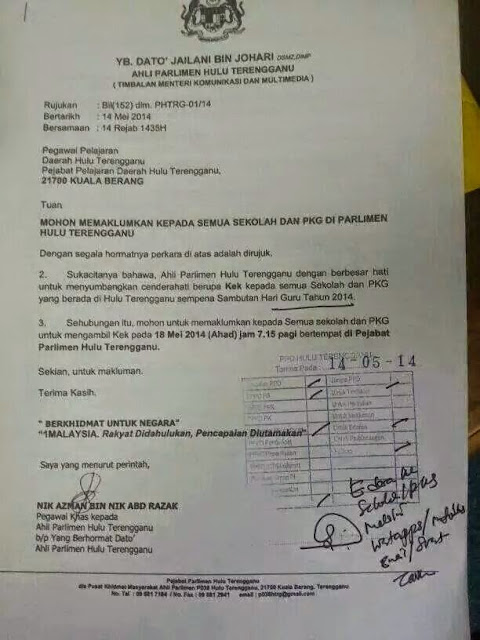 Hebatnya YB Hulu Terengganu