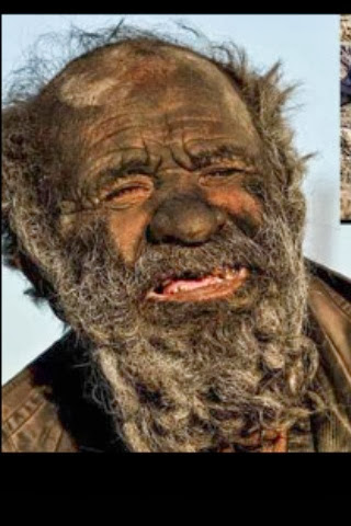 Amoo Hadji amoo hadji: man who hasn't bathed in 60 years | elegant life