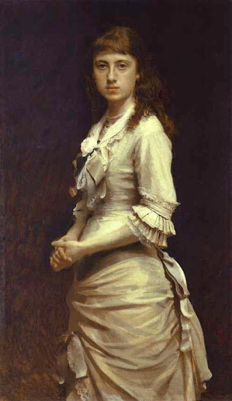 Ivan Kramskoy - Portrait of Sophia Kramskaya, the Artist's Daughter