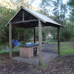 One of the gas BBQ shelters