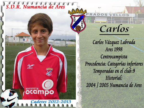 ADR Numancia de Ares. Carlos.
