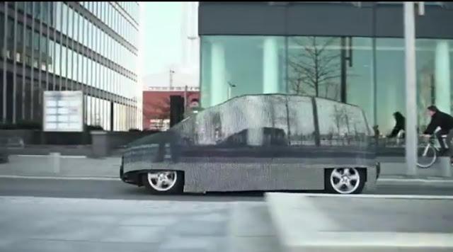 メルセデス・ベンツ、光学迷彩を搭載の「消える車」開発