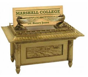 ark of covenant business card holder
