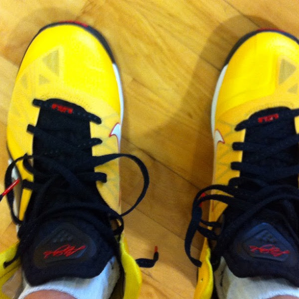 Preview of Upcoming Nike LeBron 9 PS Elite 8220Varsity Maize8221