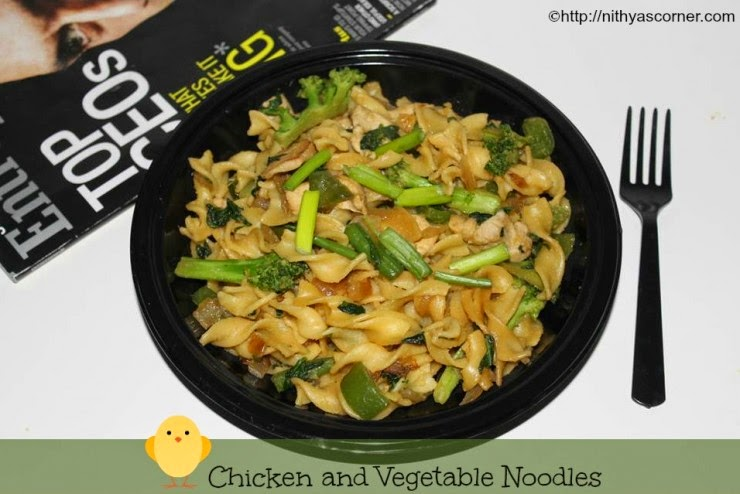 Chicken and Vegetable Noodles