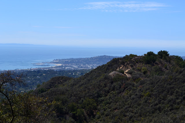 Saddle Rock with Santa Barbara as backdrop