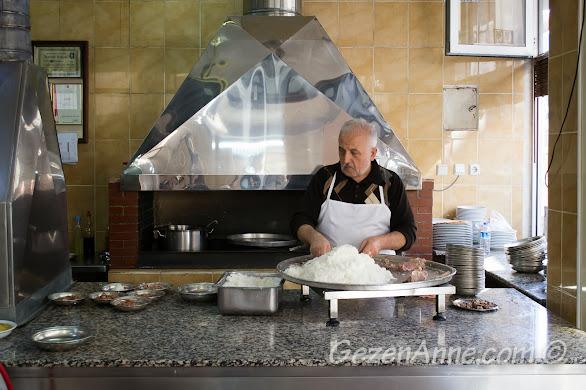 yılların ustası beyran hazırlarken, Metanet Lokantası Gaziantep