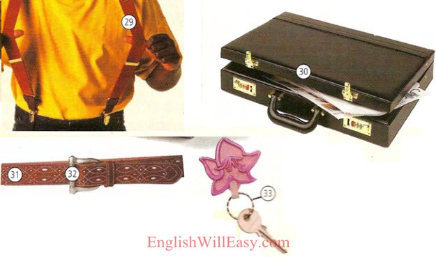 Accessories , Jewelry - Clothes, Fashion - Picture Dictionary